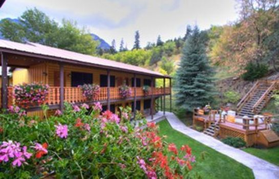 Buitenaanzicht BOX CANYON LODGE AN