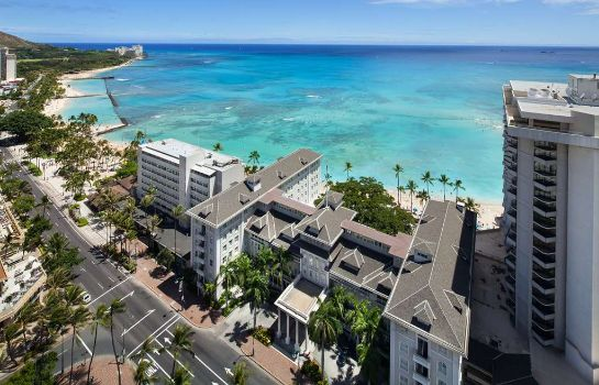 Exterior view Waikiki Beach  A Westin Resort & Spa Moana Surfrider
