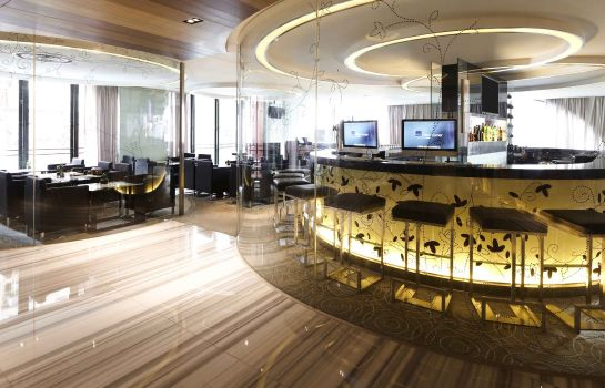 Hall de l'hôtel Novotel Hong Kong Nathan Road Kowloon