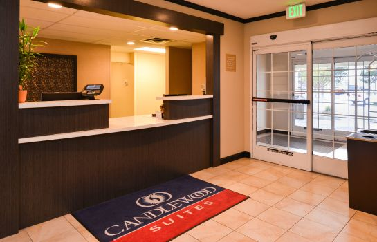 Hotelhalle Candlewood Suites BOISE - TOWNE SQUARE