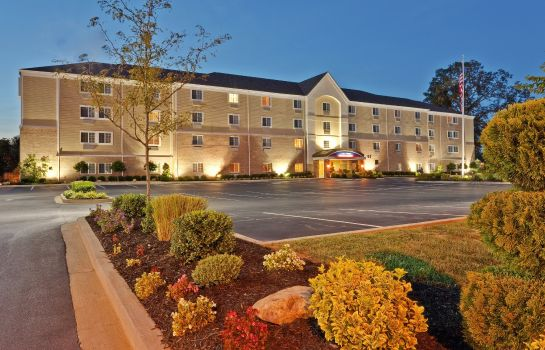 Vista exterior Candlewood Suites BOWLING GREEN