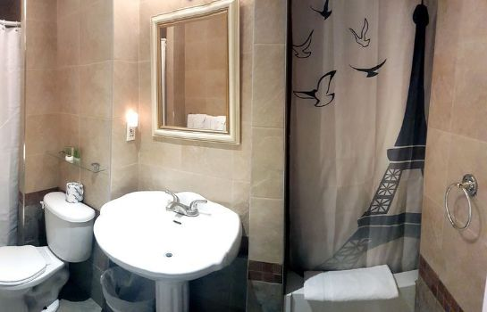 Bagno in camera Hotel de Paris
