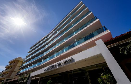 Exterior view Manousos City Hotel
