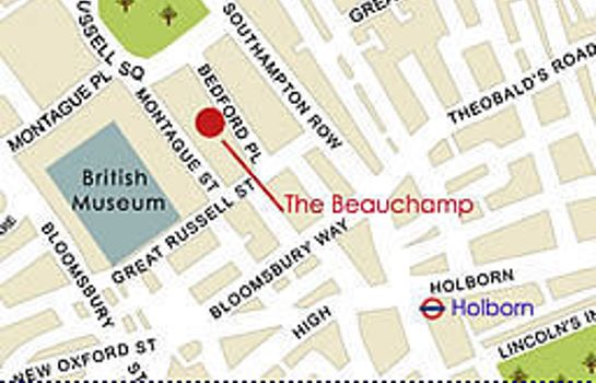 Information The Beauchamp A Grange Hotel