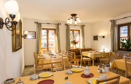 Vista all'interno Hotel Pension Geiger