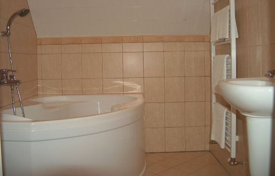Bagno in camera Pension Amadeus