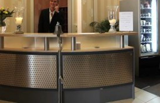 Reception City-Hotel Stolberg