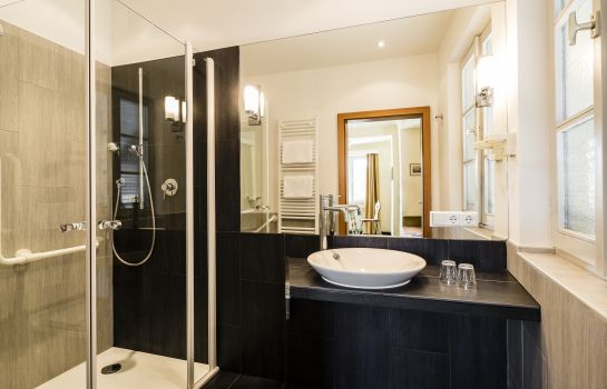 Bagno in camera Hotel Traube