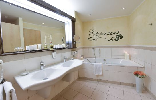 Bagno in camera Hotel am Vitalpark