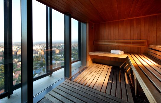 Sauna Eurostars Madrid Tower