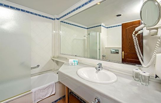 Bagno in camera Hotel Fergus Club Vell Mari