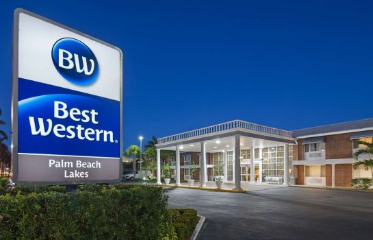 Außenansicht Best Western Palm Beach Lakes Inn