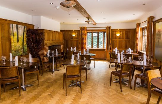 Restauracja Great Hallingbury Manor