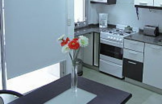 Kitchen Atenea Apartments & Suites