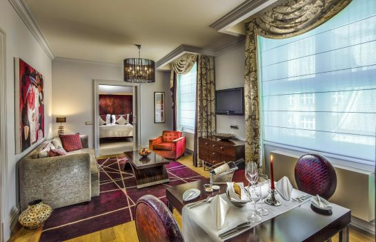 Junior Suite The Grand Mark Prague The Leading Hotels of The World