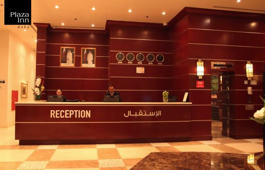 Reception Plaza Inn Doha