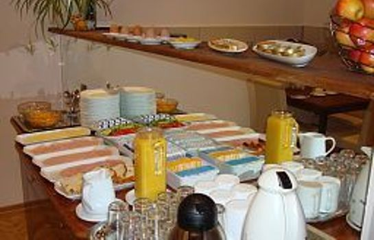 Breakfast buffet Liechtenstein Pension