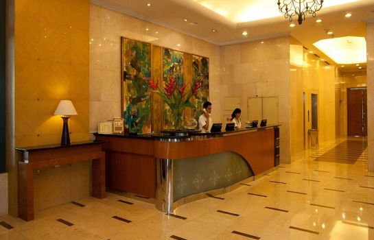 Reception Grand Tropic Suite Jakarta