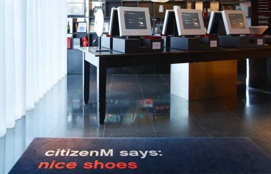 Hotelhal citizenM Schiphol Airport
