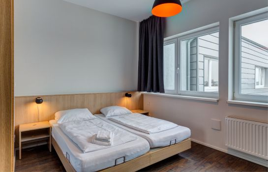 Doppelzimmer Komfort MEININGER Hamburg City Center