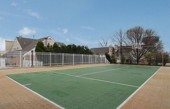 Campo de tennis Hawthorn Suites by Wyndham Miamisburg/Dayton Mall South