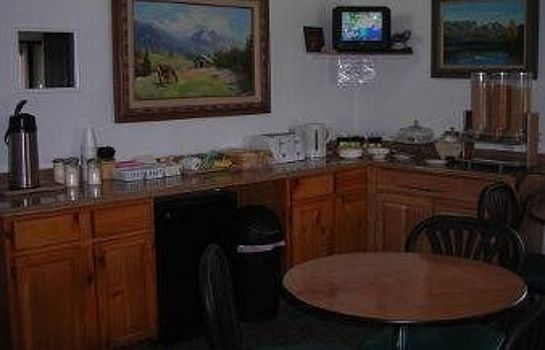 Breakfast room Knights Inn Cortez CO