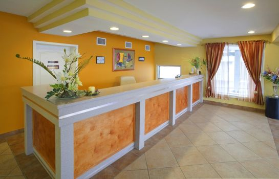 Hotelhalle Americas Best Value Inn Del Rio