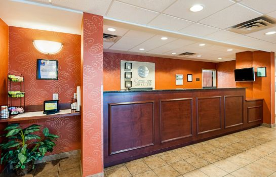 Hotelhalle Comfort Inn & Suites Cambridge