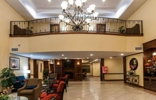 Hotelhalle Comfort Suites Hobby Airport