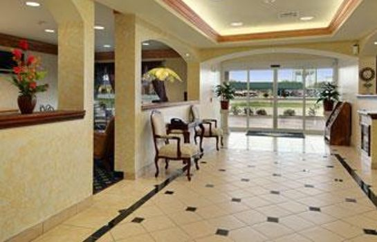Hall de l'hôtel DAYS INN SUITES CLEBURNE TX