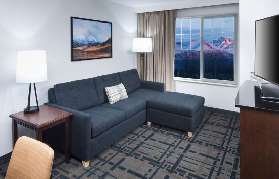 Zimmer Embassy Suites by Hilton Anchorage