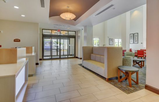 Hotelhalle Holiday Inn Express & Suites TAMPA -USF-BUSCH GARDENS