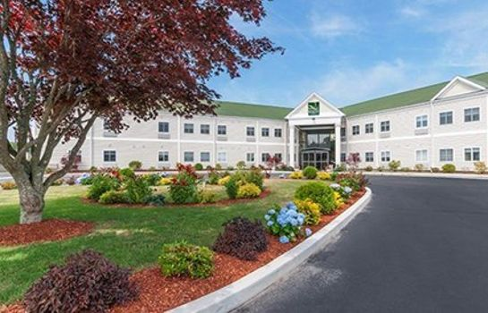 Vista exterior Quality Inn & Suites Middletown - Newport