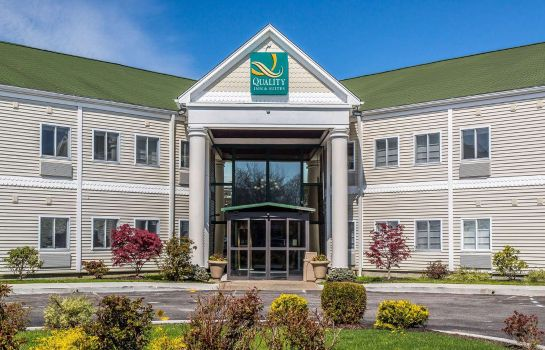 Vista exterior Quality Inn and Suites Middletown - Newp