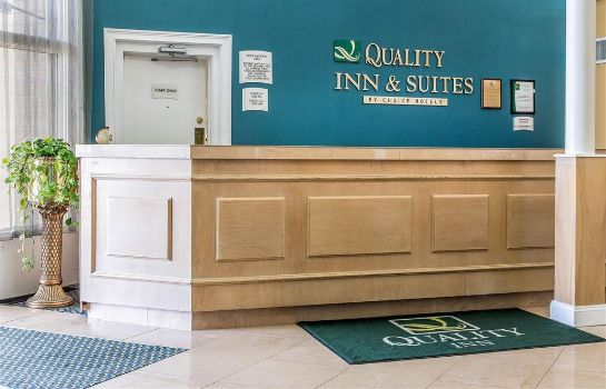 Lobby Quality Inn and Suites Middletown - Newp Quality Inn and Suites Middletown - Newp