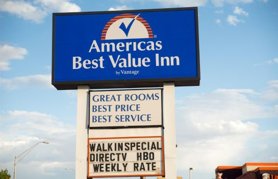 Außenansicht Americas Best Value Inn Socorro