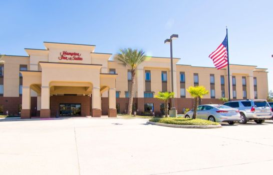 Buitenaanzicht Hampton Inn - Suites Baton Rouge - I-10 East