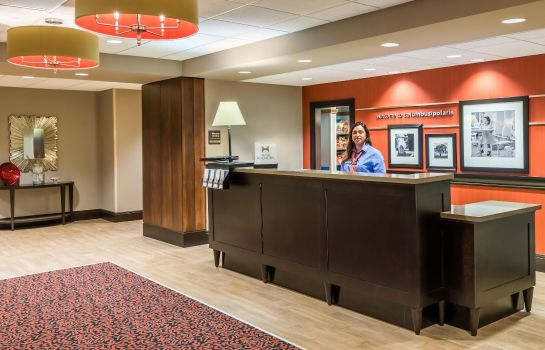 Lobby Hampton Inn - Suites Columbus Polaris