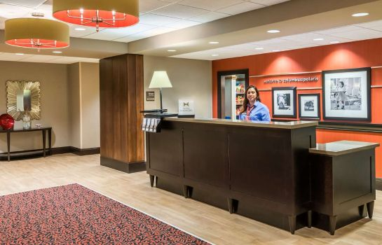 Hall Hampton Inn - Suites Columbus Polaris