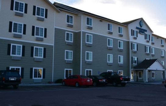 Exterior view WOODSPRING SUITES COLORADO SPR