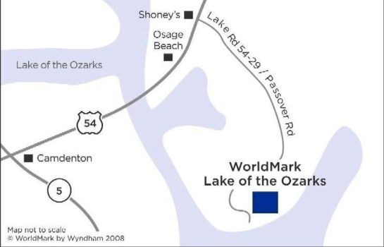 Informacja WORLDMARK LAKE OF THE OZARKS