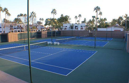 Tennisplatz Scottsdale Camelback Resort
