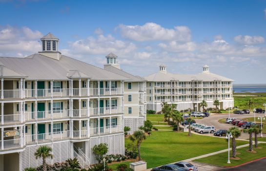 Vue extérieure Holiday Inn Club Vacations GALVESTON SEASIDE RESORT