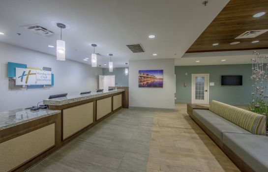 Lobby Holiday Inn Club Vacations GALVESTON SEASIDE RESORT
