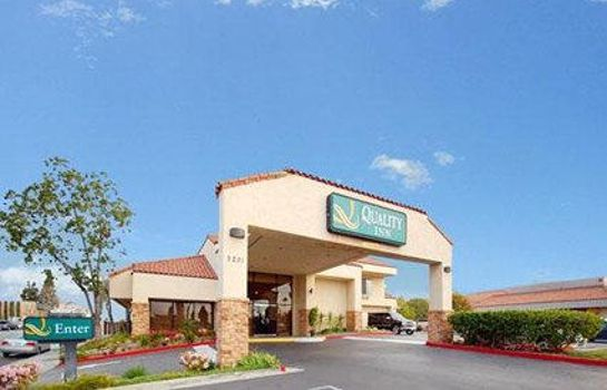 Vista exterior Quality Inn Long Beach Airport