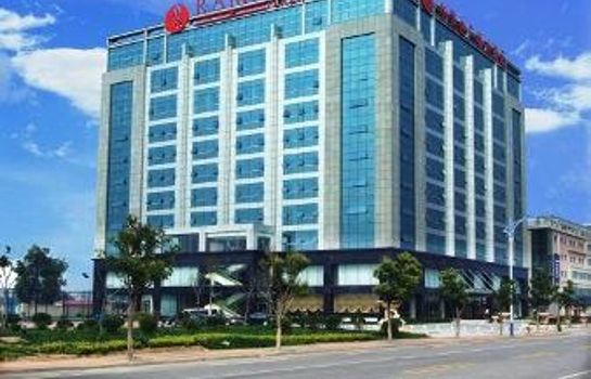Exterior view Fulitai International Hotel Yantai
