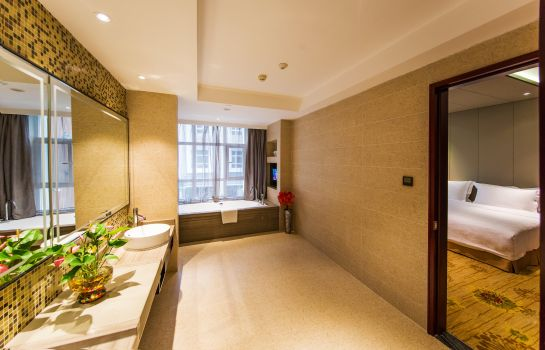 Bathroom Fulitai International Hotel Yantai