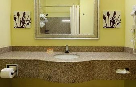 Bagno in camera Days Inn & Suites Cleburne TX