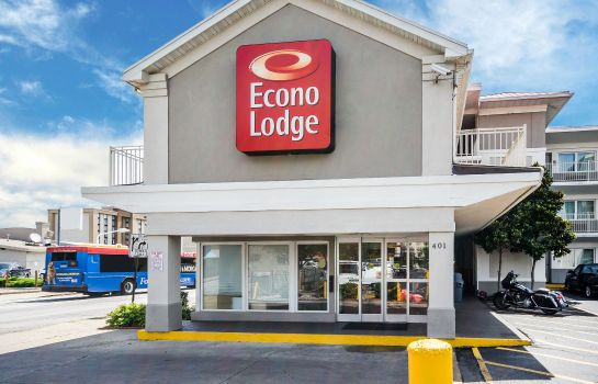 Vista esterna Econo Lodge Downtown