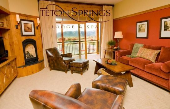 Hotelhalle TETON SPRINGS LODGE AND SPA
